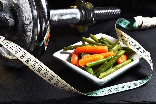 Zelenina, činka a meter